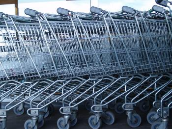 Winkelwagens in tuincentra levensgevaarlijk